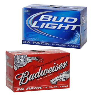 Bud And Bud Light 36 Pack Cans